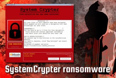 SystemCrypter ransomware
