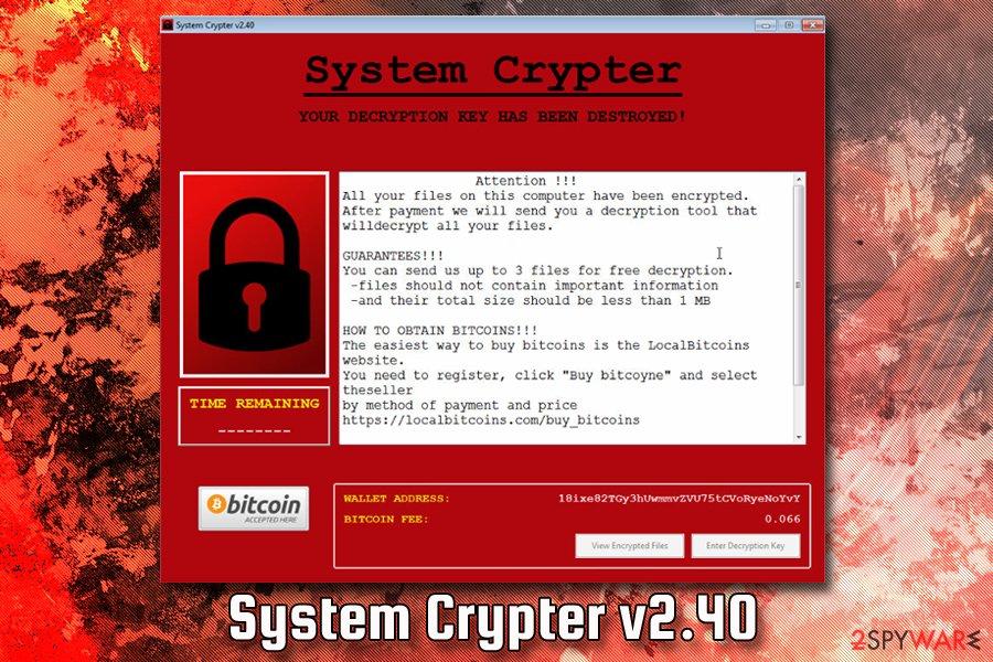 System Crypter v2.40
