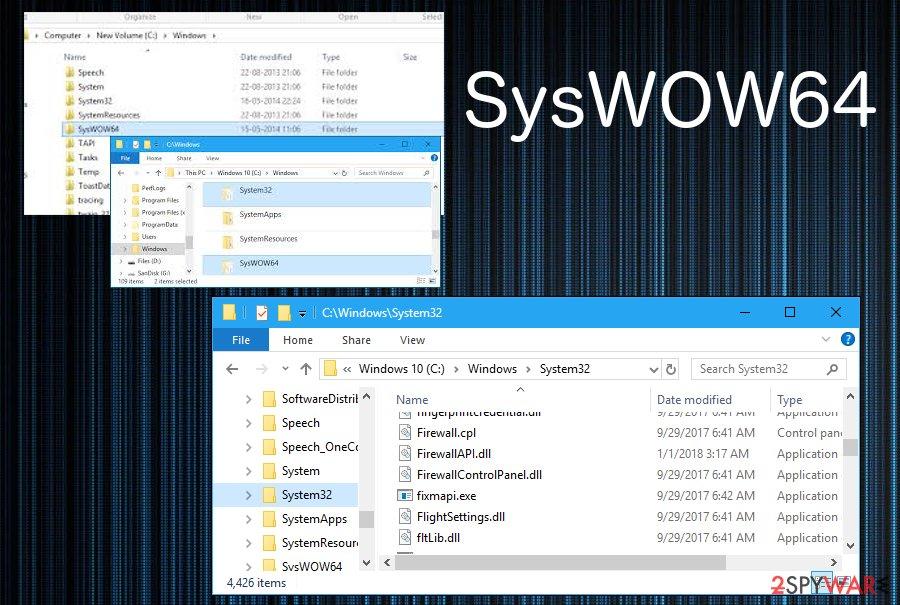 SysWOW64 process