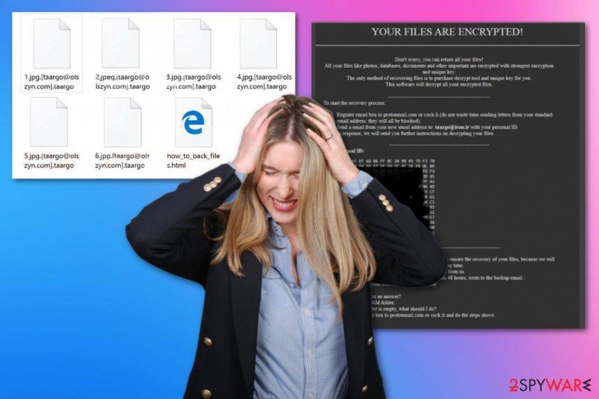 Taargo ransomware virus