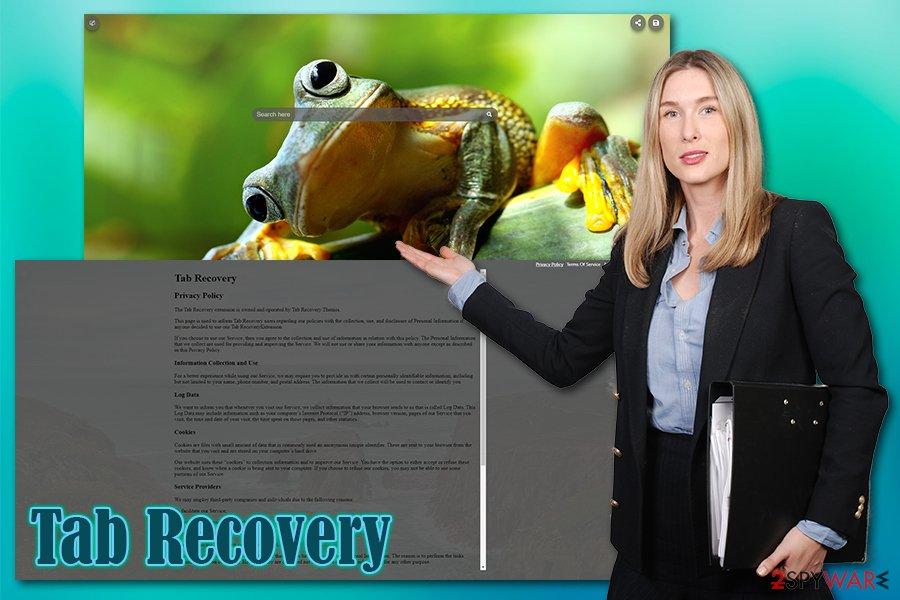 Tab Recovery hijack