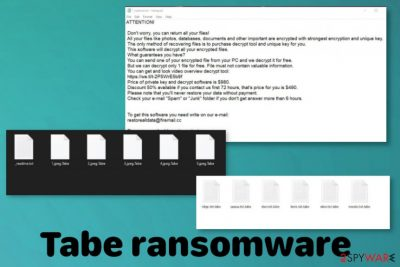 Tabe ransomware