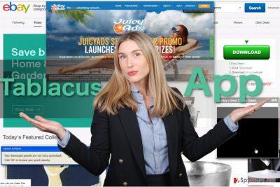 Image displaying TablacusApp ads