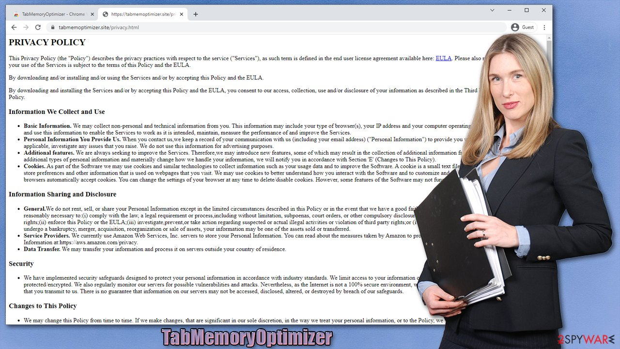 TabMemoryOptimizer adware