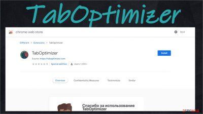 TabOptimizer adware