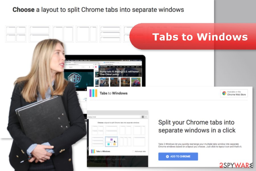 The image of Tabs to Windows virus