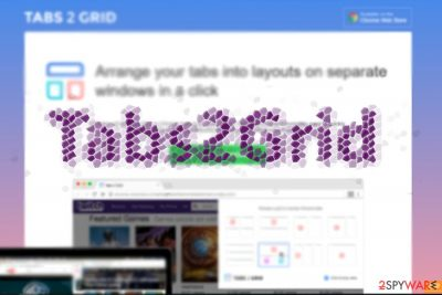 The image displaying Tabs2Grid