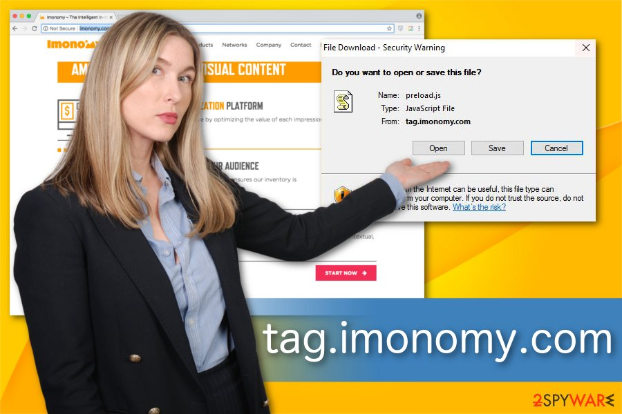 Tag.imonomy.com illustration