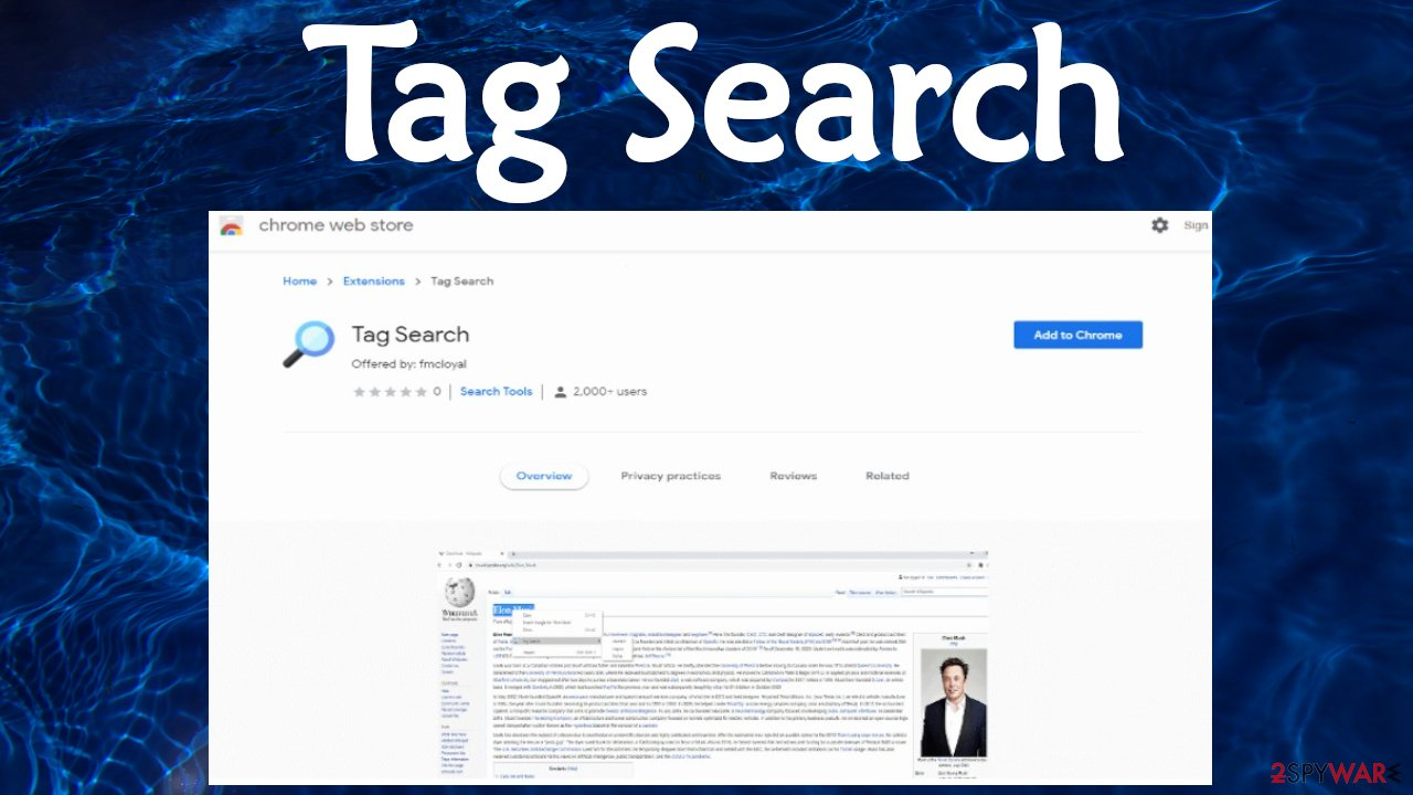 Tag Search virus
