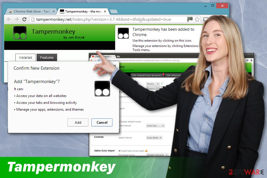Tampermonkey add-on