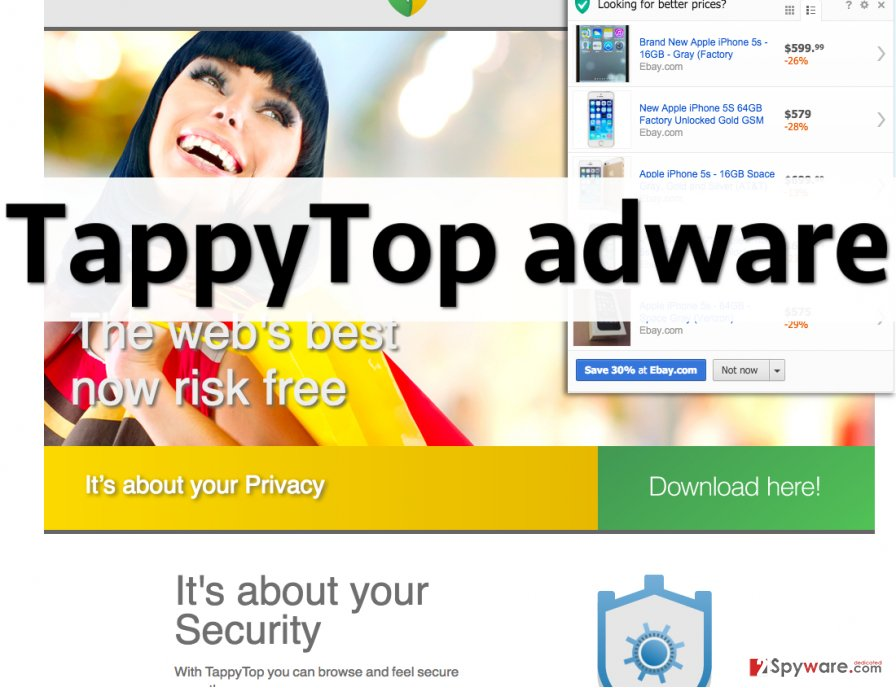 TappyTop adware displays annoying ads