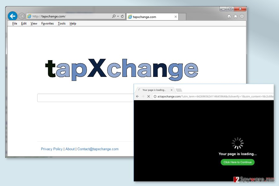 The image of Tapxchange.com