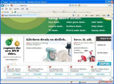 Target Saver ads