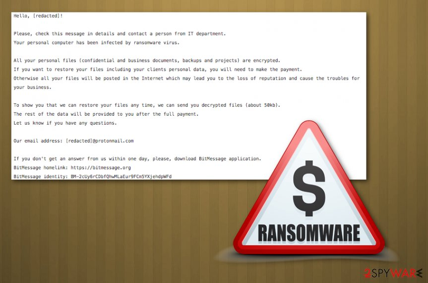 Target777 ransomware