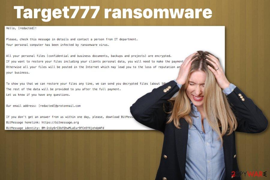 Target777 ransomware virus