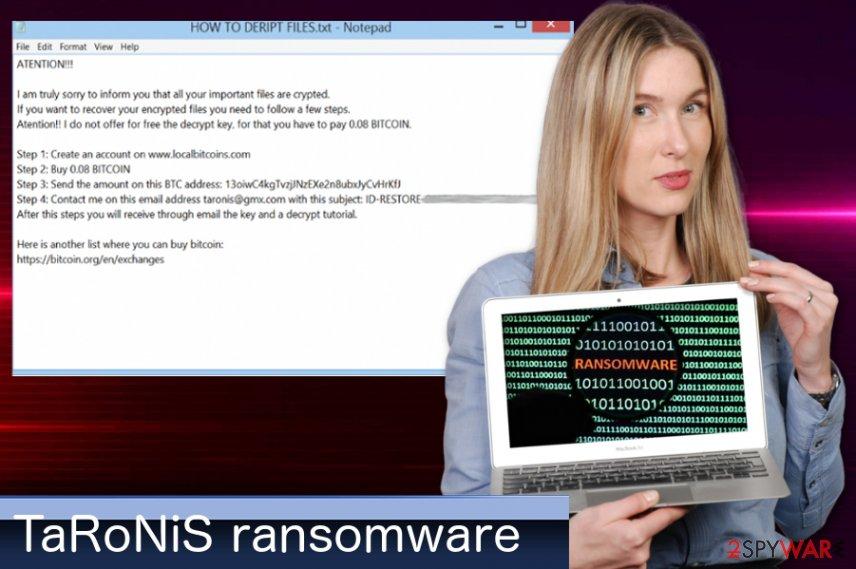 TaRoNiS ransomware virus