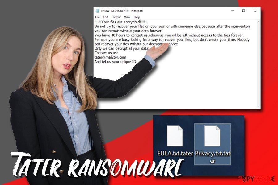 Tater ransomware virus