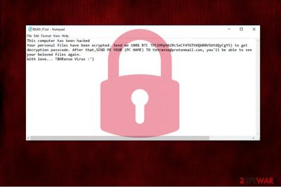 TBHRanso virus image