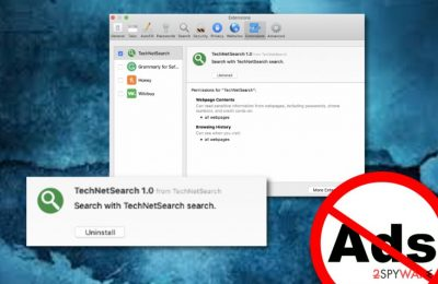TechNetSearch adware