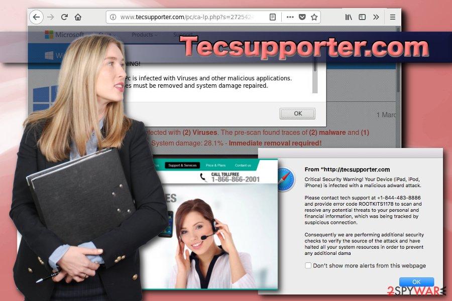 Tecsupporter.com adware