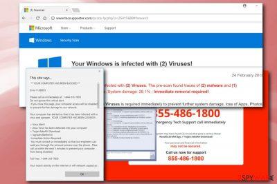 Tecsupporter.com virus