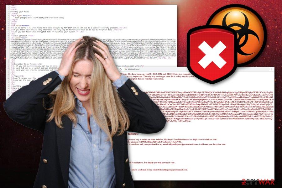 Tellyouthepass ransomware virus
