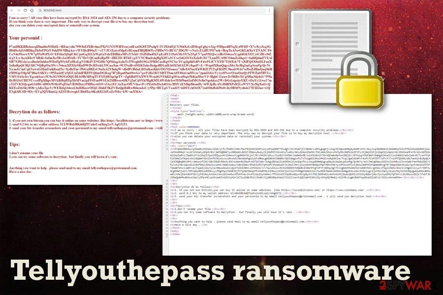 Tellyouthepass ransomware