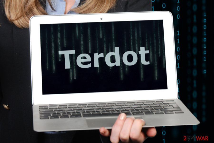 The image of Terdot malware