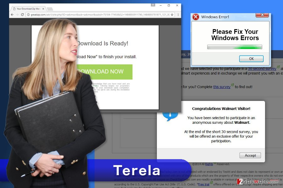 The example of Terela ads