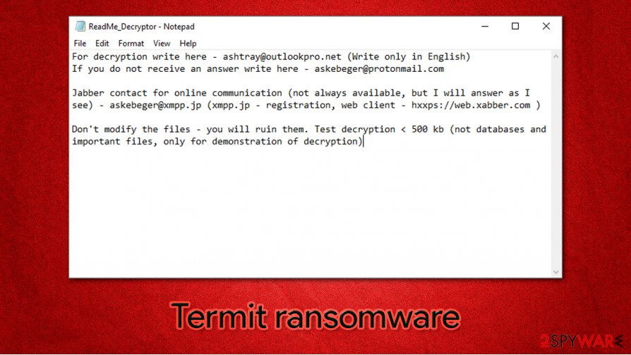 Termit ransomware
