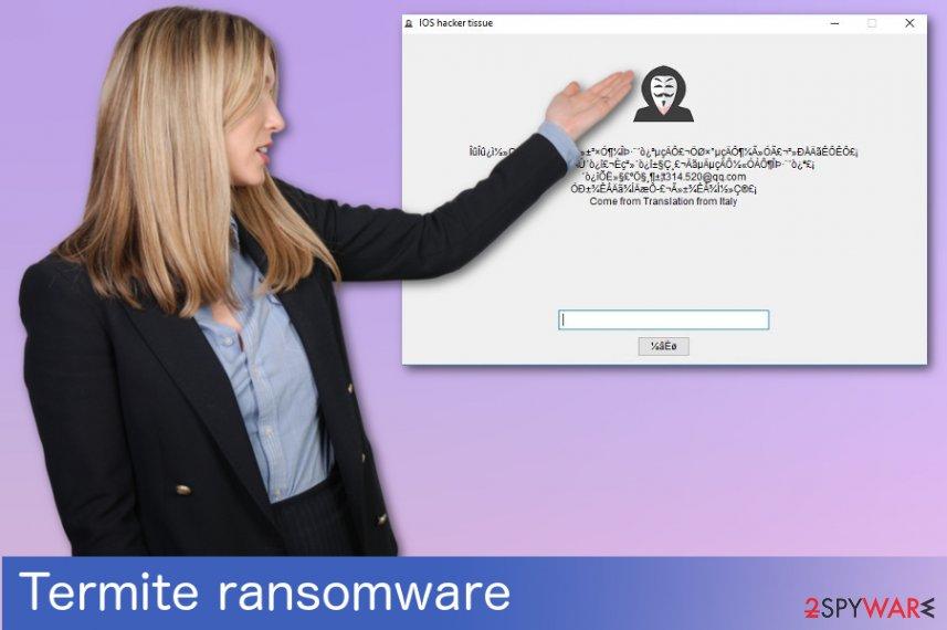 Termite ransomware virus