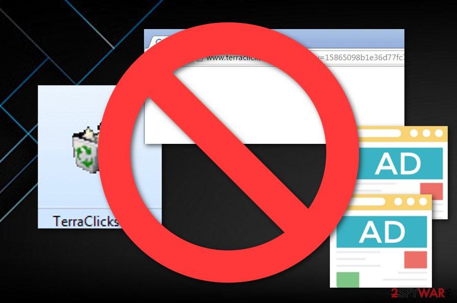 Terraclicks potentially unwanted program