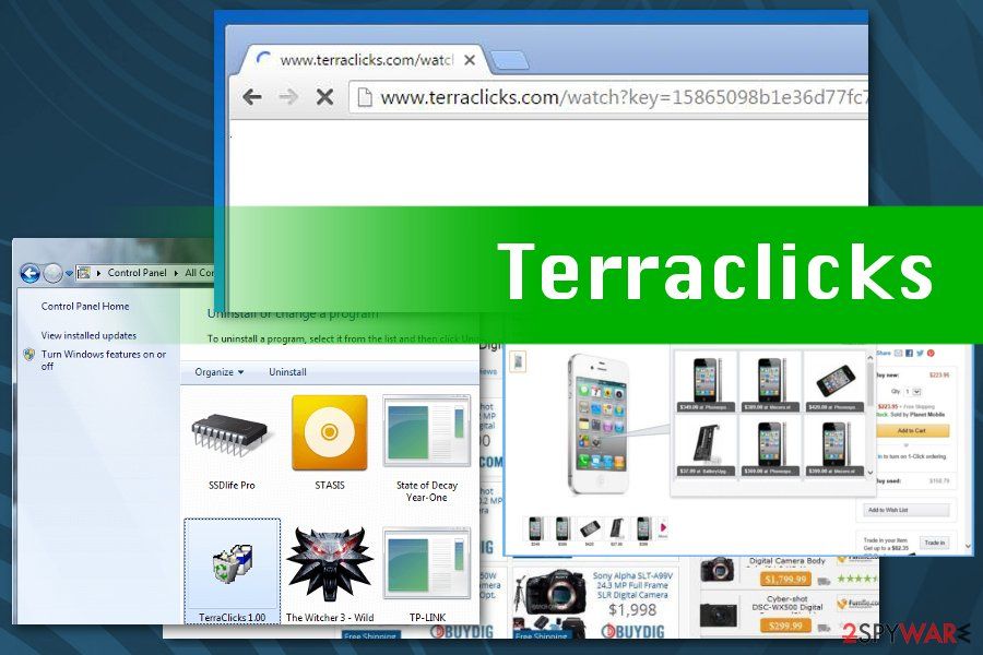 Terraclick virus