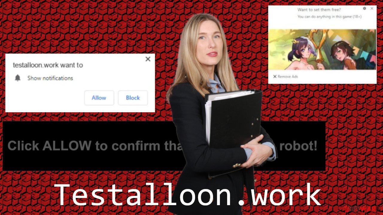 Testalloon.work adware
