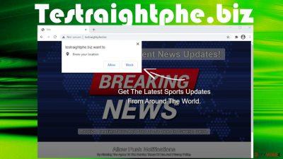Testraightphe.biz notifications