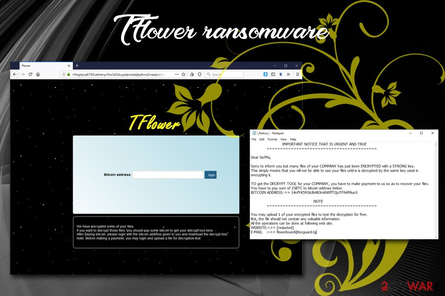 TFlower ransomware