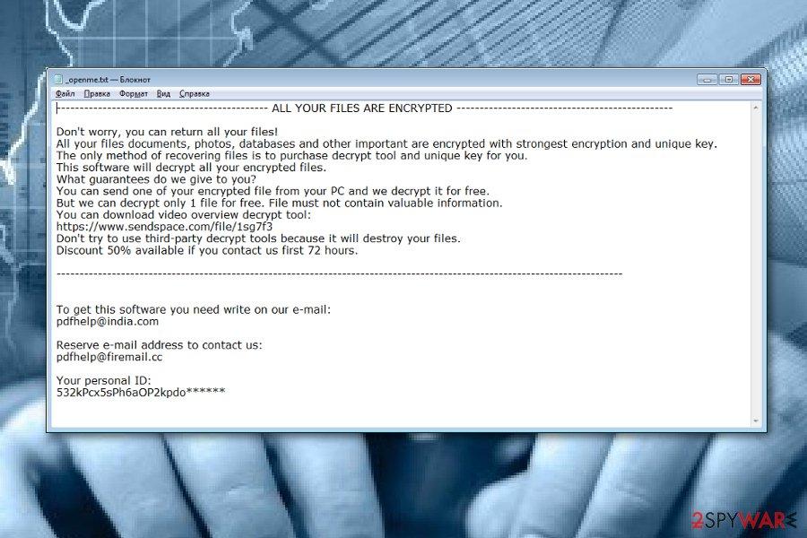 .tfude ransomware