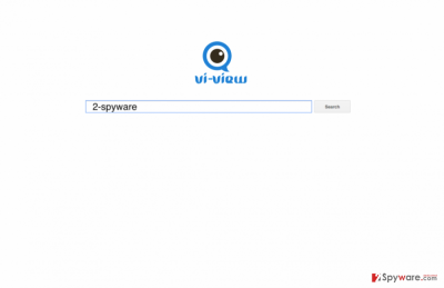 The latest version of Vi-view browser hijacker