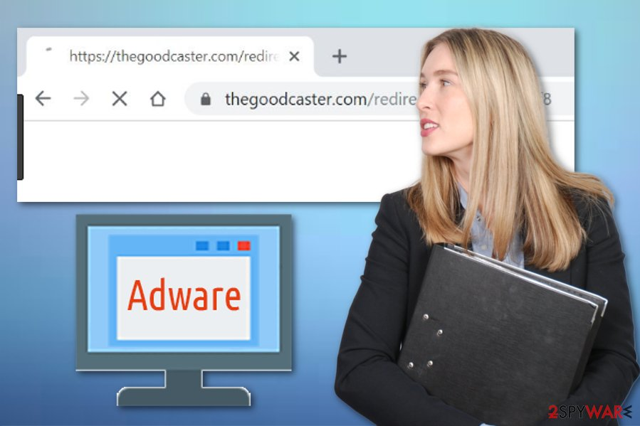 Cara menghapus thegoodcaster di windows 10