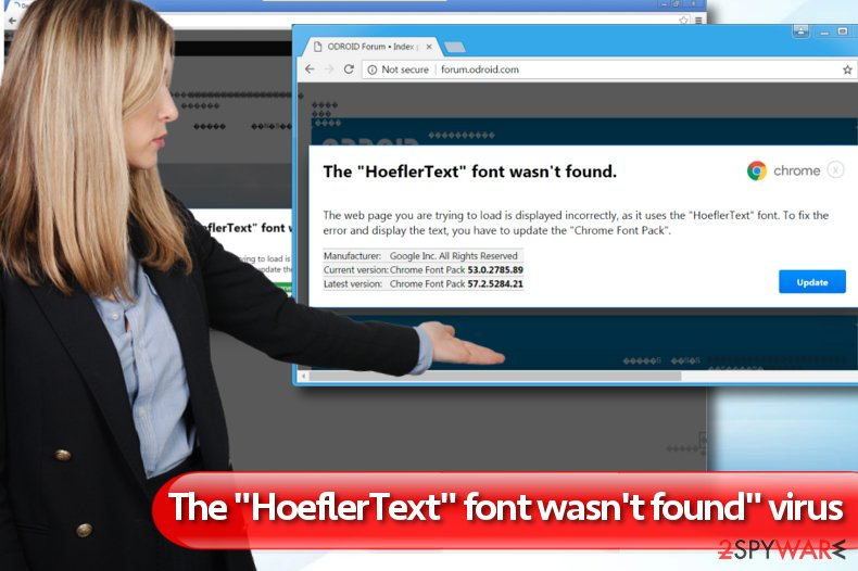 "The HoeflerText font wasn't found"""