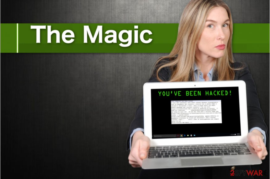 The Magic crypto-ransomware virus
