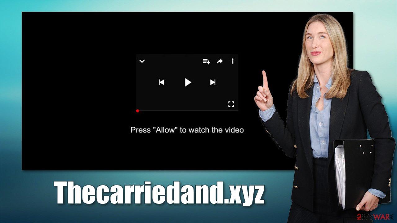 Thecarriedand.xyz scam