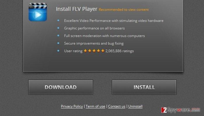 Themedia-player.com ads snapshot