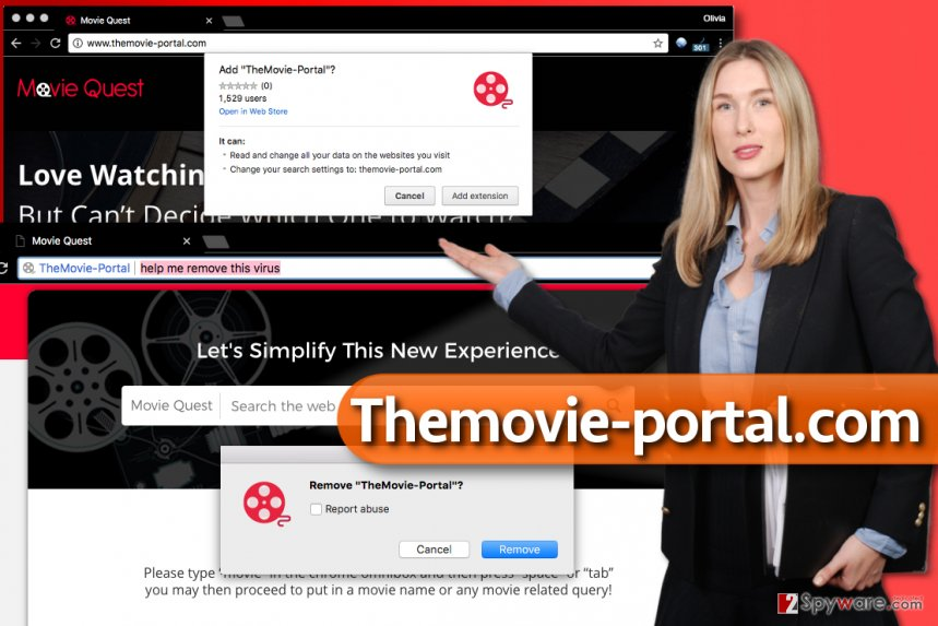 Themovie-portal.com virus