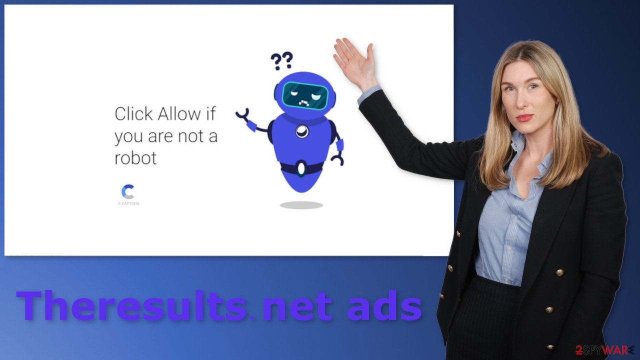 Theresults.net ads