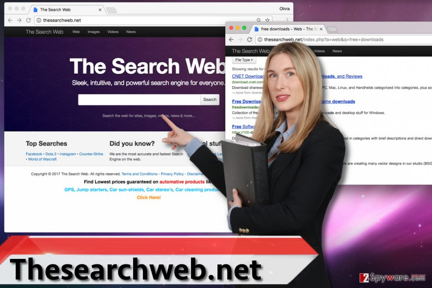 Thesearchweb.net virus