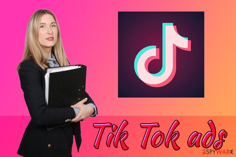 TikTok advertisement