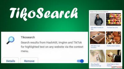 TikoSearch browser hijacker