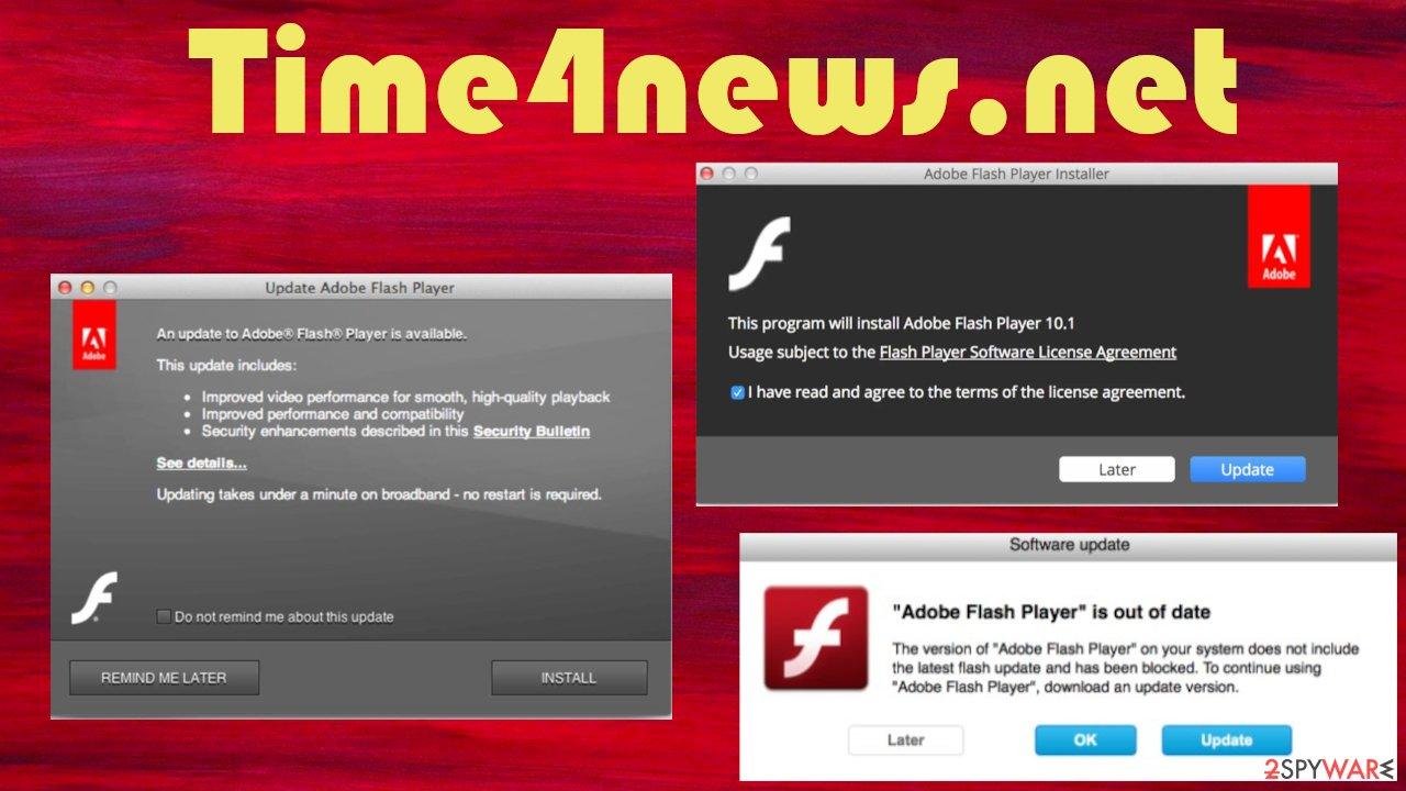 Time4news.net virus