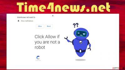 Time4news.net redirect